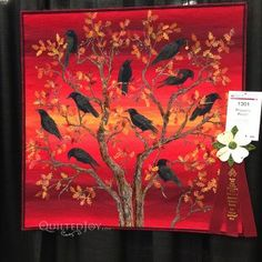 Robber's Roost by Joanne Baeth at AQS Quilt Week Paducah 2015