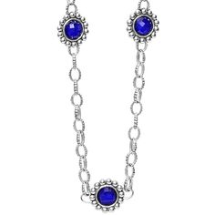 LAGOS Sterling Silver Lapis Necklace