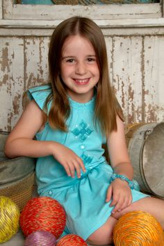 """""""Beautiful Little Lady"""" by Portrait Creations photography studio located in South Charlotte, NC."""