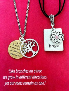 """Rooted & Hope On 16"""" Necklaces To visit my online catalog go to: http://WendyRosario.mypremierdesigns.com/ Access code: Wendy"""