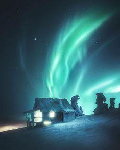 Santa's house ✨ Levi, Finland by @juusohd