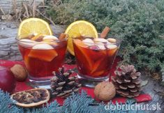 Vianočný punč - My site Moscow Mule Mugs, Punch Bowls, Rum, Smoothies, Alcoholic Drinks, Food And Drink, Cheese, Homemade, Cooking
