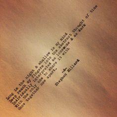 Poem poetry.   Original poem by stephen millard. photo on Instagram.