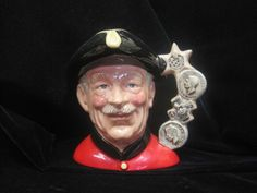 Chelsea Pensioner Royal Doulton  Toby Mug D 6817 by MyRedFlamingo, sold