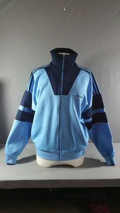 d3c56d92ef6d Vintage   Retro 70 s Original ADIDAS Trefoil RARE Tracksuit Jacket Top Small