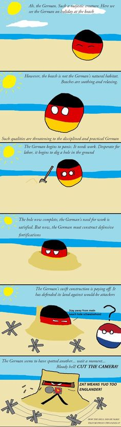 Ahhh yes long life the stereotype that germans are agressive and like war/killing. I think this will never end to be the first thing that comes to a persons mind when they hear that you are german. -.-