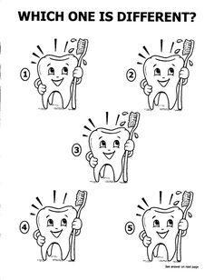 coloring sheets of dentist | ... Dental Coloring printables and ...