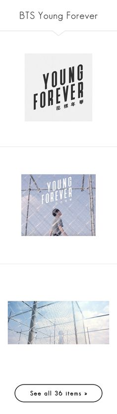 """""""BTS Young Forever"""" by sunshine-moonlight ❤ liked on Polyvore featuring bts"""