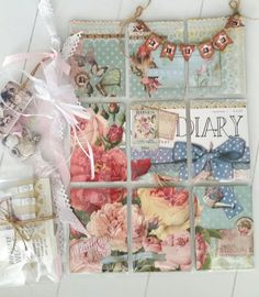 Melinda's CreaBook: Daphne's Diaries Pocket Pal, Pocket Cards, Book Crafts, Paper Crafts, Daphnes Diary, Fun Mail, Glue Book, Shabby Chic Cards, Heart Garland