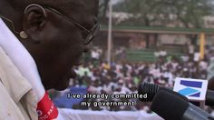 An African Election. Documentary on the 2008 elections in Ghana. There is a lot of drama in the story as the election is extremely tight & has to go to a final vote in a rural province. Amidst the tension are the personalities in Ghanian politics, the opinions & emotions of Ghanian people. and an insight into the running of a fledgling democracy - intense arguments caught on camera between the different party representatives amidst allegations of corruption & vote rigging