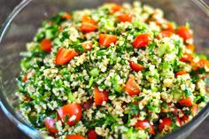 bulgar wheat salad by The Red Spoon, via Flickr