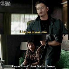 Tipo isso... Supernatural Series, Supernatural Quotes, Dean Winchester, Jensen Ackles, Familia Winchester, Little Memes, Netflix, Vampire Academy, Lost Girl