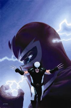 uncanny x force artwork collection magneto wolverine Uncanny X Force Comic Art Gallery of Wolverines Crew