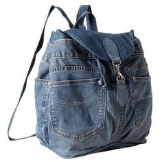 The Gap recycled denim 1969 backpack