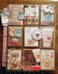 home letters AnnMaries Stamping Adventures! Pocket Pal, Pocket Cards, Atc Cards, Journal Cards, Pocket Scrapbooking, Scrapbook Pages, Project Life Scrapbook, Coffee Cards, Pocket Letters