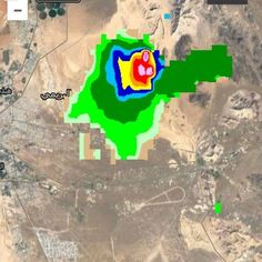 #شبكة_أجواء : #عمان : خلية بردية يرصدها رادار غيث حاليا على مناطق #البريمي  @g.s.chasers  @alyasatnet