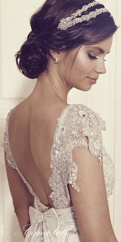 Anna Campbell Gossamer 2016 Bridal Collection ❤ See more: http://www.weddingforward.com/anna-campbell-gossamer-bridal-collection/ #weddings