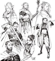 Our fan art gallery for the week of Critical Role Characters, Critical Role Fan Art, Dnd Characters, Fantasy Characters, Character Concept, Character Art, Critical Role Campaign 2, Fanarts Anime, Illustrations