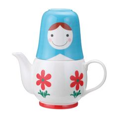 Matryoshka Tea For Two now featured on Fab.