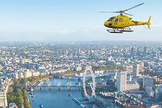 Go on a helicopter ride 🚁 London Tumblr, May Bay, Helicopter Tour, Paris Skyline, Places To Go, How To Memorize Things, Tours, In This Moment
