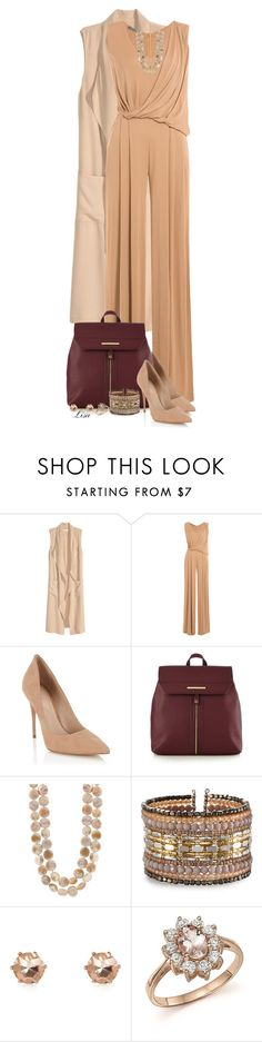 """""""Neutral with a Pop of Color"""" by lmm2nd ❤ liked on Polyvore featuring H&M, Alberta Ferretti, Lipsy, Red Herring, NAKAMOL and Bloomingdale's"""