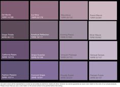 Craft Studio Paint Palettes Shades Of Purple Plum