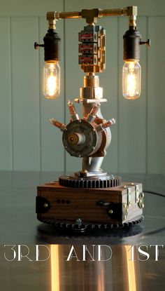 Time Machine. Nixie Tube Clock and Lamp
