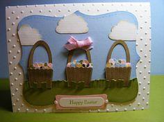 Stampin' Up!  Cupcake Punch  Leena Girsa  Easter Basket