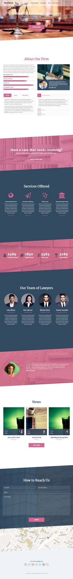 Baratheon is Premium Responsive HTML5 Lawyers Template. Retina Ready. Parallax Scrolling. One Page. Bootstrap 3. Flat Design. http://www.responsivemiracle.com/cms/baratheon-premium-responsive-one-page-law-firm-html5-template/