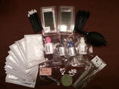 Top Salon Grade Eyelash Extensions Starter Set ~Training Kit ~ Upgrade to Crystal Stone ~ 16 ROW TRAYS ~ Lint Free Eye Pads ~ PREMIUM QUALITY ~ Tweezers ~ Gel Remover ~ Cleanser ~ Micro-brushes -- Find out more about the great product at the image link. Curl Lashes, Eyelashes, Long Lashes, False Lashes, Eyelash Extensions Aftercare, Eyelash Extension Kits, Lash Up, C Curl