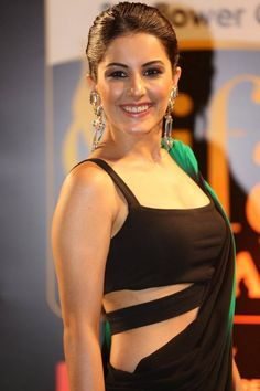 Isha Talwar Latest Stills in Stylish Saree at IIFA Utsavam Awards 2016 ★ Desipixer  ★