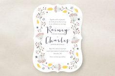 Merry Garden Wedding Invitations by Wondercloud De... | Minted