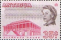 Antigua 1966 SG 190a Clarence House Fine Mint Scott 176a Other Stamps of Antigua HERE