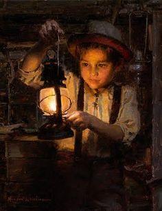 Ethan's Lantern by Morgan Weistling