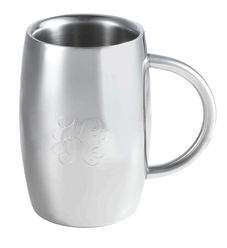 This Visol beer mug also doubles as a great coffee mug thanks to the double walled stainless steel. #stayswarm #doubleuse #beerandcoffee