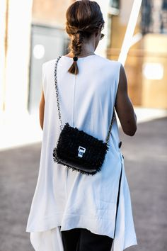 Street look à la Fashion Week Croisière 2017 de Sydney || @sommerswim
