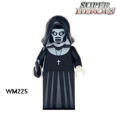 Building Blocks WM225 Nun Sinter The Horror Theme Movie Super Heroes Star Wars Action Bricks Dolls Kids DIY Toys Hobbies Figures #Affiliate