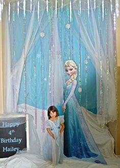 Frozen Elsa Party Birthday Party Ideas | Photo 2 of 28 | Catch My Party: