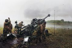 Marines conduct live-fire training during Artillery Relocation Training Program at Yausubetsu Maneuver Area in Hokkaido, Japan.