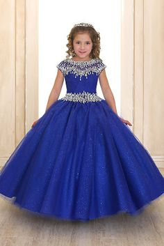 Crystal Stone Trim Pageant Gown in Royal Blue Plaire - Style Hundreds of  light catching stones in this beautiful pageant gown. A long gown that  reaches the ... fe22cb456cc2