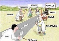 You-Dreams-Relatives-Goals-Society-Friends-Pessimists