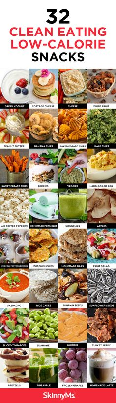 32 Clean Eating Low Calorie Snacks #lowcaloriesnacks #cleaneating