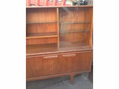 Vintage retro teak wood large sideboard G Plan Highboard mid century  London Picture 2