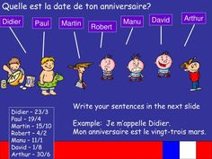 Quel Est La Date D'anniversaire De Tal Awesome Ppt Objectives You are Going to Learn the Days Of the Paul Martin, Date, Perfect Image, Learning, Awesome, Studying, Teaching, Onderwijs