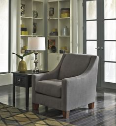 Maier - Charcoal - Accent Chair