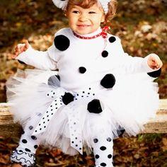 Dalmatian tutu Halloween Costume Order Now Through September 20th