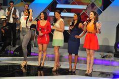 Mariel Guerrero, Tueska, Anier Barros, Lizbeth Santos e Isaura Taveras
