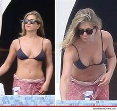 Jennifer Aniston -- What's Sarong? As far as I can see she ...