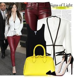 """Celebrity street style: Kylie Jenner"" by stylechampion-cl ❤ liked on Polyvore"