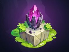 Treasure Hunter - Game objects designed by NestStrix. Connect with them on Dribbble; Prop Design, Game Design, Gui Interface, Hunter Games, 8bit Art, Game Gem, Isometric Art, Game Props, 3d Fantasy